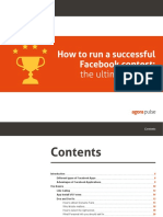 Run Successful Facebook Contest eBook