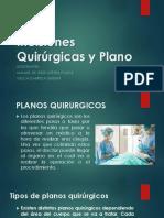 Incisiones Quirúrgicas y Plano
