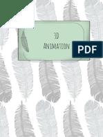 3D Animation Scrapbook