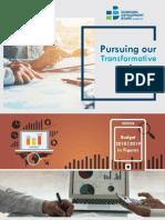 Pursuing our Transformative Journey