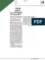 Uniurb Spritz con i numeri - Il Corriere Adriatico del 14 giugno 2018