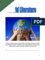 3. World Literature Student Packet