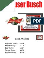 Beer Strategic Case