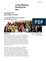 2010 National Planning Meeting to Eliminate Demand for Commercial Sex Hunt Alternatives Fund