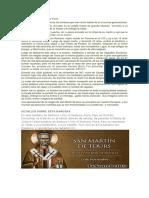 Biografía de San Martín de Tours