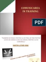 Comunicarea in Training