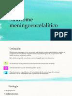 Síndrome meningoencefalítico etiologicos