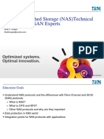 Network Attached Storage (NAS)Technical Education for SAN Experts