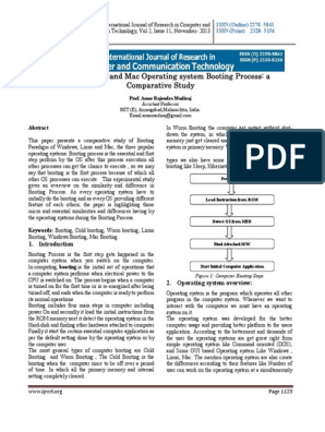 Boot Process pdf | Operating System | Booting