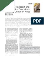 Sediment Transport and the Coconino Sandstone