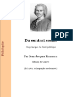 Rousseau Contrat Social