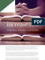 Increase Your Hope in 2018 Grow Faith Test