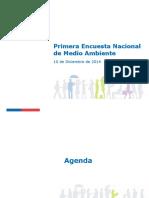 Presentacion Primera Encuesta Nacional de Medio Ambiente VF