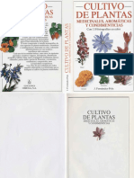 Cultivo de Plantas Medicinales, Aromaticas y Condimenticias