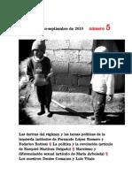 Revista para un debate político socialista número 5, junio-septiembre de 2010