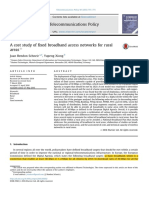 A Cost Study of Fixed Broadband Access Networks for Rural Areas