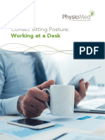 Physiomed Sitting Guide - Working at a Desk Digital