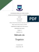 RELATÓRIO - SEMINÁRIO - MÉTODO DO TRAPÉZIO.docx