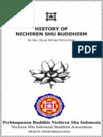 History of Nichiren Shu Buddhism