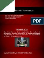 INVERSIONES FINACIERAS