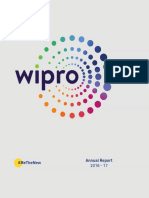 Wipro Annual Report for FY 2016 17