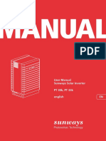 Sunways Pt30 33 Manual En