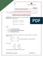 Sistemas de Ecuaciones Lineales 2012-2
