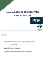 Metodologia 8D de Rezolvare a Problemelor_suport Curs Anca Haita