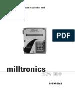 Manual de Instalación Integrador Milltronics