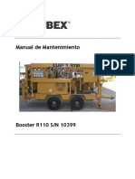 10399 R110 Maintenance Manual - Spanish
