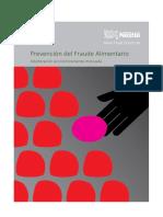 Food Fraud Prevention Nestle Booklet 2016_SPANISH