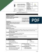 Planificación de Clase Matricería Uno 2018