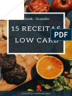 15 Receitas Low Carb Gratuitas
