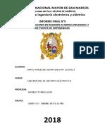 Informe Final 5 Circuitos Electricos II