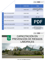 PREVENCION DE RIESGOS LABORALES 2018.ppt