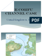 Corfu Channel Case. Powerpoint