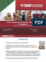 Clase 1. Introducción Al Derecho Constitucional Comparado