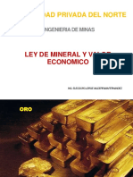 6 Ley Mineral Valor Econmico