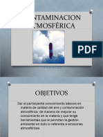 2018 03 Curso Contaminacion Atmosférica Fundamentos Fuentes Dispersion