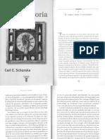 Schorske - Pensar Con La Historia - El Libro Tema y Contenido