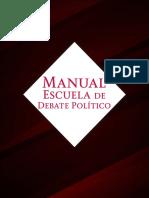 Manual Debate Político IMJUVE 2018
