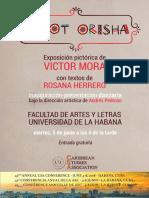 Cartel Orisha Castellano