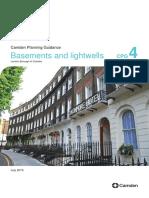 Camden Basements and Lightwells