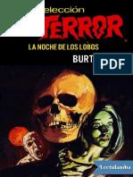 La Noche de Los Lobos - Burton Hare ( Terror )