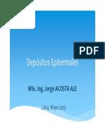 Depositos Tipo Epitermales