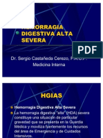 Hemorragia Digestiva Alta Severa