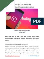 Kulwa Cara Mengoptimalkan Instagram