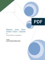 Reporte curso Cisco Packet Tracer | Capítulo 3