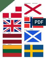 50 Banderas en Español e Ingles