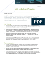 2017 Planning Guide for Data Analytics